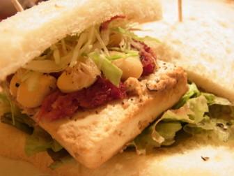 豆腐サンド,サンドウィッチ